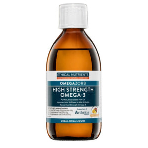 Ethical Nutrients OMEGAZORB High Strength Omega-3 Liquid (Fruit Punch) 280mL | HealthMasters