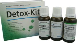 Heel Detox Kit N (Lymphatox, Nux Vomica, Reneel) 3 x 30ml Oral Liquid
