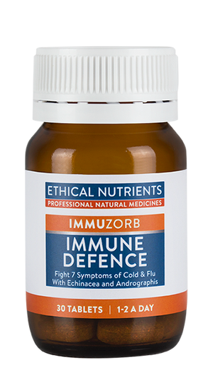 Ethical Nutrients IMMUZORB Immune Defence 30 Tabs | HealthMasters