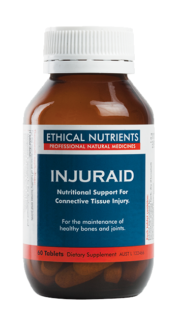 Ethical Nutrients Injuraid 60 Tablets
