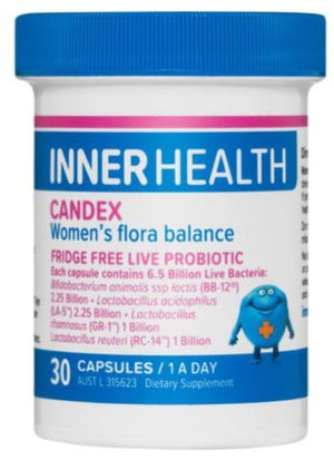Inner Health Candex 30caps 20% off RRP at HealthMasters
