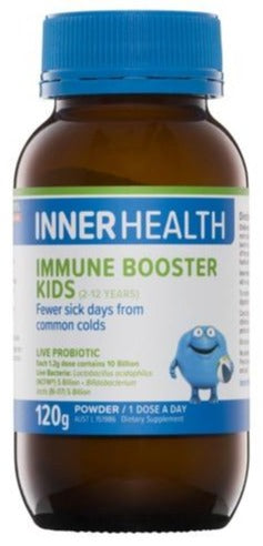 Inner Health Immune Booster Kids 120g Powder 20% off RRP at HealthMasters