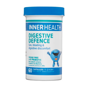 Inner Health Digestive Defence 60caps  20% off RRP at HealthMasters