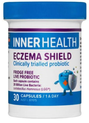Inner Health Eczema Shield 30caps 20% off RRP at HealthMasters