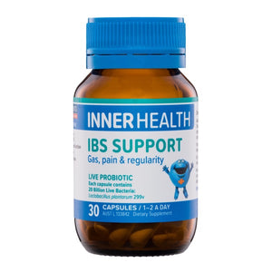 Inner Health IBS Support 30caps 20% off RRP at HealthMasters