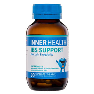 Inner Health IBS Support 90caps 20% off RRP at HealthMasters