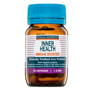 Inner Health Immune Booster 30caps 20% off RRP at HealthMasters