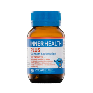 Inner Health Plus 30caps  20% off RRP at HealthMasters