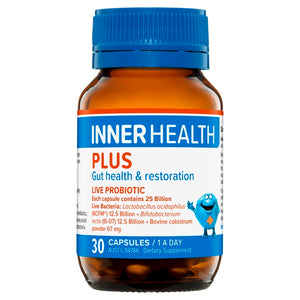 Inner Health Plus Dairy Free 30caps  20% off RRP at HealthMasters
