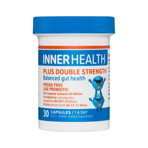 Inner Health Plus Double Strength 30caps 20% off RRP at HealthMasters