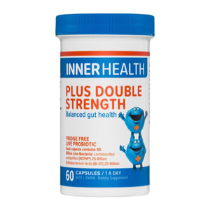Inner Health Plus Double Strength 60caps  20% off RRP at HealthMasters