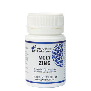InterClinical Professional MolyZinc 60caps 10% off RRP at HealthMasters InterClinical Professional