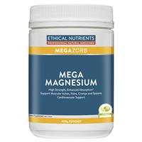 Ethical Nutrients MEGAZORB Mega Magnesium Powder (Citrus) 200g