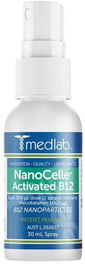 Medlab NanoCelle™ Activated B12 30 mL 10% off RRP | HealthMasters