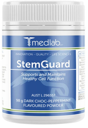 Medlab StemGuard Choc Peppermint 98g 10% off RRP | HealthMasters