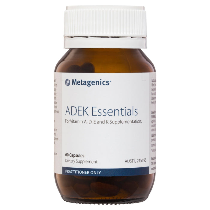 Metagenics ADEK Essentials 60 capsules