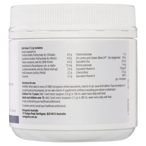Metagenics Alergenics Oral Powder Mixed Berry 202g-2 10% off RRP at HealthMasters