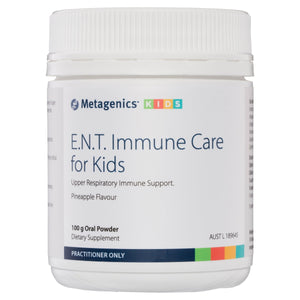 Metagenics E.N.T. Immune Care for Kids Oral Powder Pineapple 100g-1