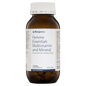 Metagenics Femme Essentials Multivitamin And Mineral 120 Tablets-1
