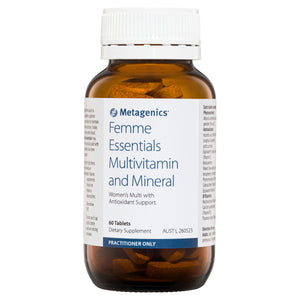 Metagenics Femme Essentials Multivitamin and Mineral 60 Tablets-1