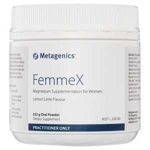 Metagenics FemmeX Oral Powder Lemon Lime 252g-1