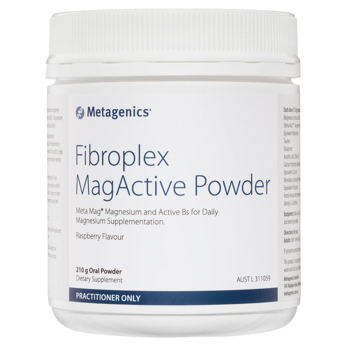 Metagenics Fibroplex MagActive Raspberry flavour 210gm