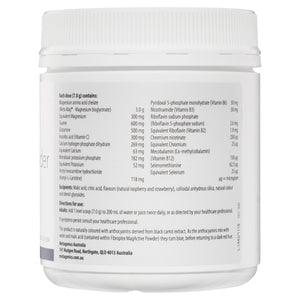 Metagenics Fibroplex MagActive Powder Raspberry Flavour 210g-2