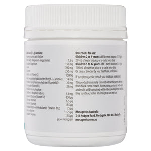 Metagenics Fibroplex MagActive for Kids Oral Powder Raspberry 120g-2