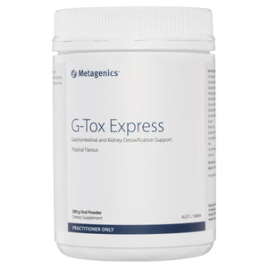 Metagenics G-Tox Express Oral Powder Tropical 280g-1