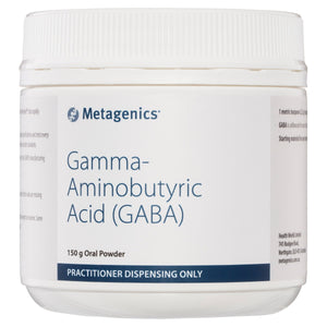 Metagenics Gamma-Aminobutyric Acid (GABA) Oral Powder 150g-1