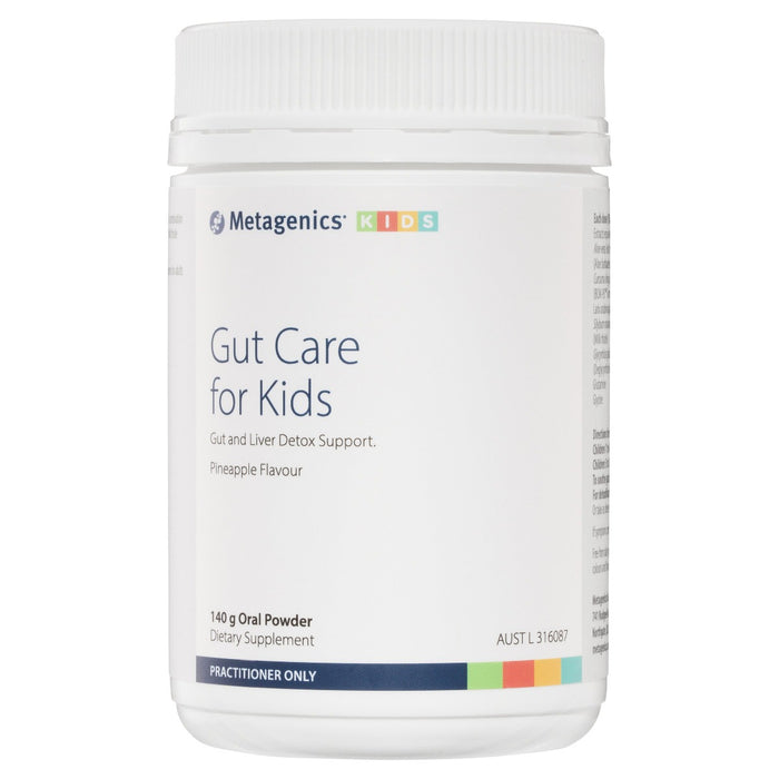 Metagenics Gut Care for Kids Pineapple flavour 140 g