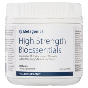 Metagenics High Strength BioEssentials 120 Tablets-1