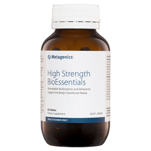 Metagenics High Strength BioEssentials 60 Tablets-1