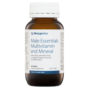 Metagenics Male Essentials Multivitamin and Mineral 60 Tablets-1