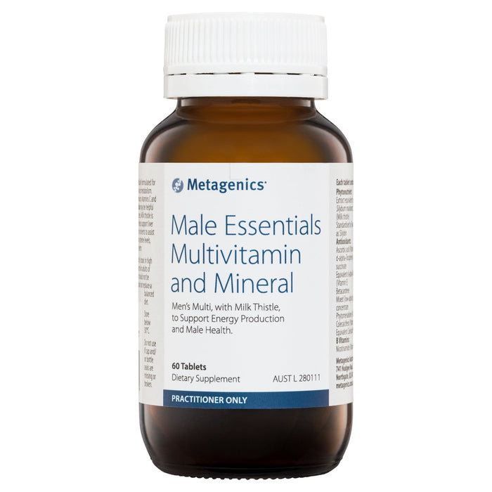 Metagenics Male Essentials Multivitamin and Mineral 60's