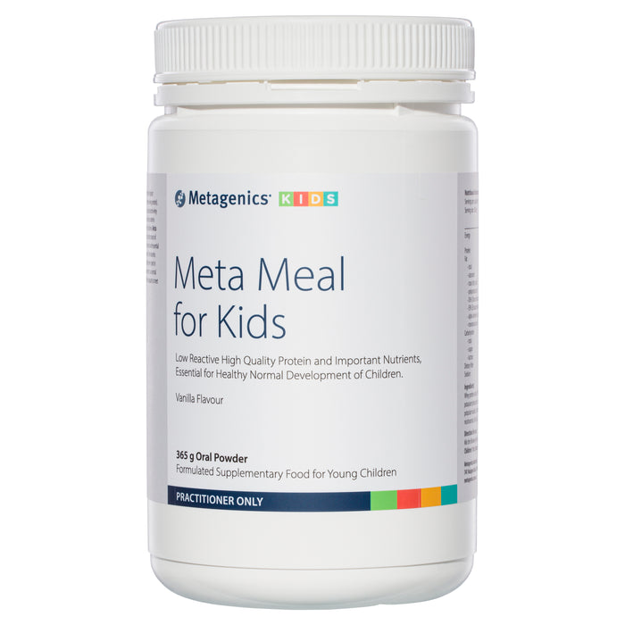 Metagenics Meta Meal For Kids Vanilla flavour 365g