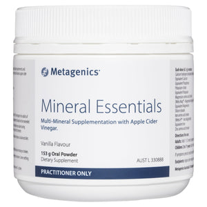 Metagenics Mineral Essentials Vanilla Flavour 153 g-1