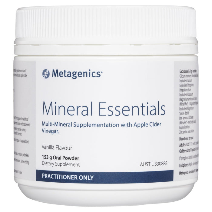 Metagenics Mineral Essentials 153g powder