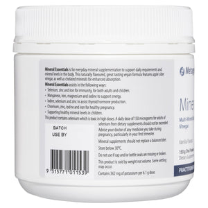 Metagenics Mineral Essentials Vanilla Flavour 153 g-3