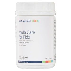 Metagenics Multi Care for Kids Oral Powder Orange 170 g-1