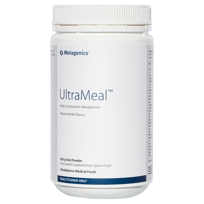 Metagenics UltraMeal Vanilla 630 g powder
