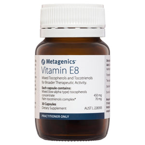Metagenics Vitamin E8 30 Capsules-1