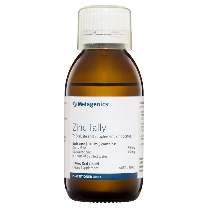 Metagenics Zinc Tally 100 ml Liquid