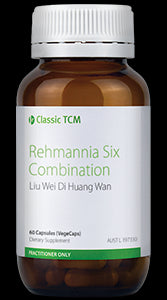 Metagenics Classic TCM Rehmannia Six Combination 60 VegeCaps 10% off RRP | HealthMasters