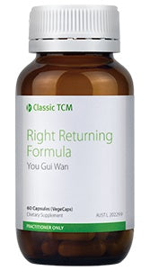 Metagenics Classic TCM Right Returning Formula 10% off RRP | HealthMasters