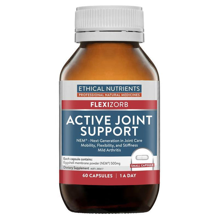 Ethical Nutrients FLEXIZORB Active Joint Support 60 Caps