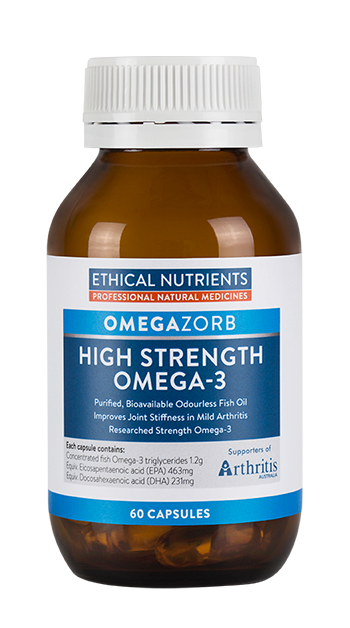 Ethical Nutrients OMEGAZORB High Strength Omega-3 60 Caps