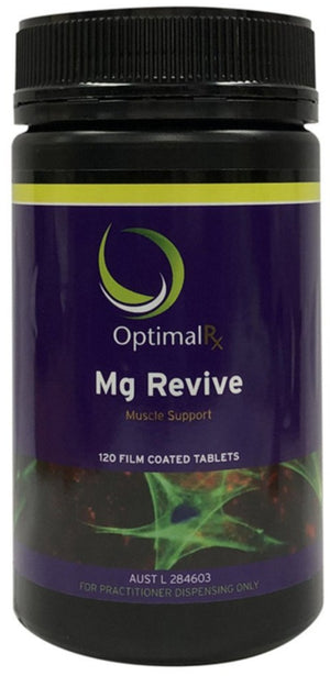 OptimalRx Mg Revive 120tabs 10% off RRP at HealthMasters OptimalRx