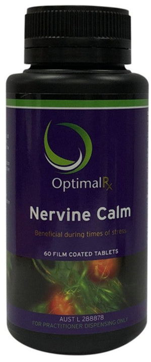 OptimalRx Nervine Calm 60tabs 10% off RRP at HealthMasters OptimalRx