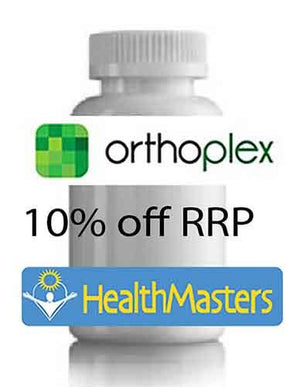 ORTHOPLEX D.E.F. 180 tabs 10% off RRP | HealthMasters
